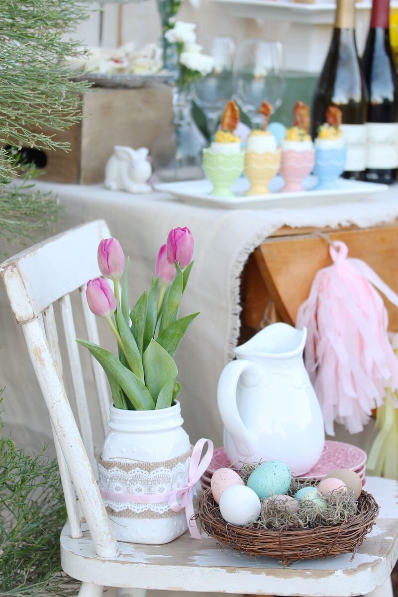 Easter Sunday Brunch Table Mythirtyspot