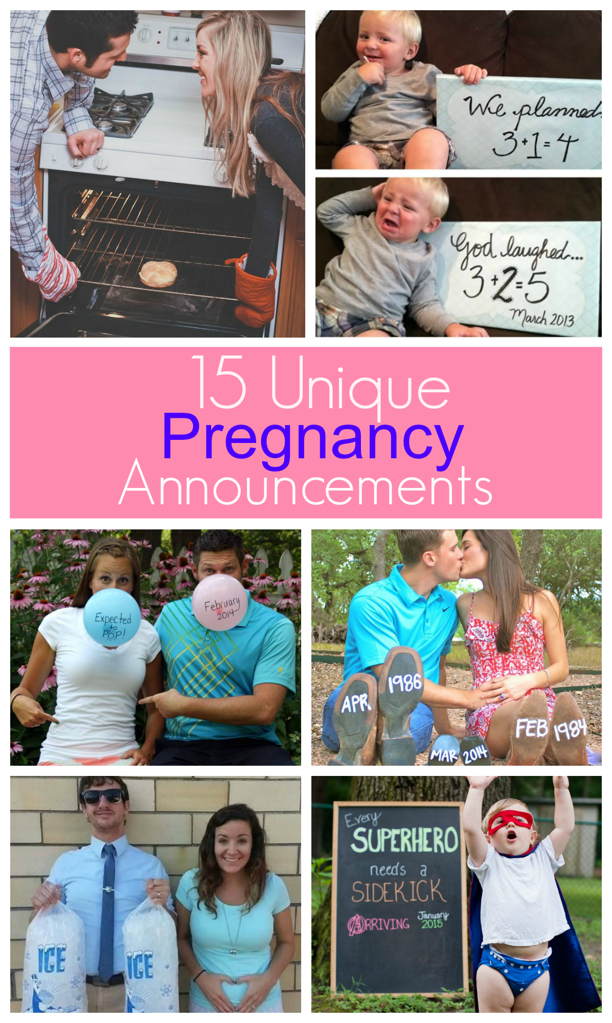15 Unique Pregnancy Announcements & New Panorama Prenatal ...