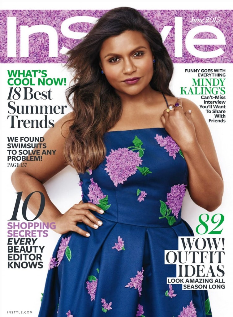 Actress @ Mindy Kaling - InStyle USA, June 2015 1