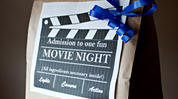 DIY Family Movie Night Kit