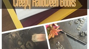 DIY Creepy Halloween Books
