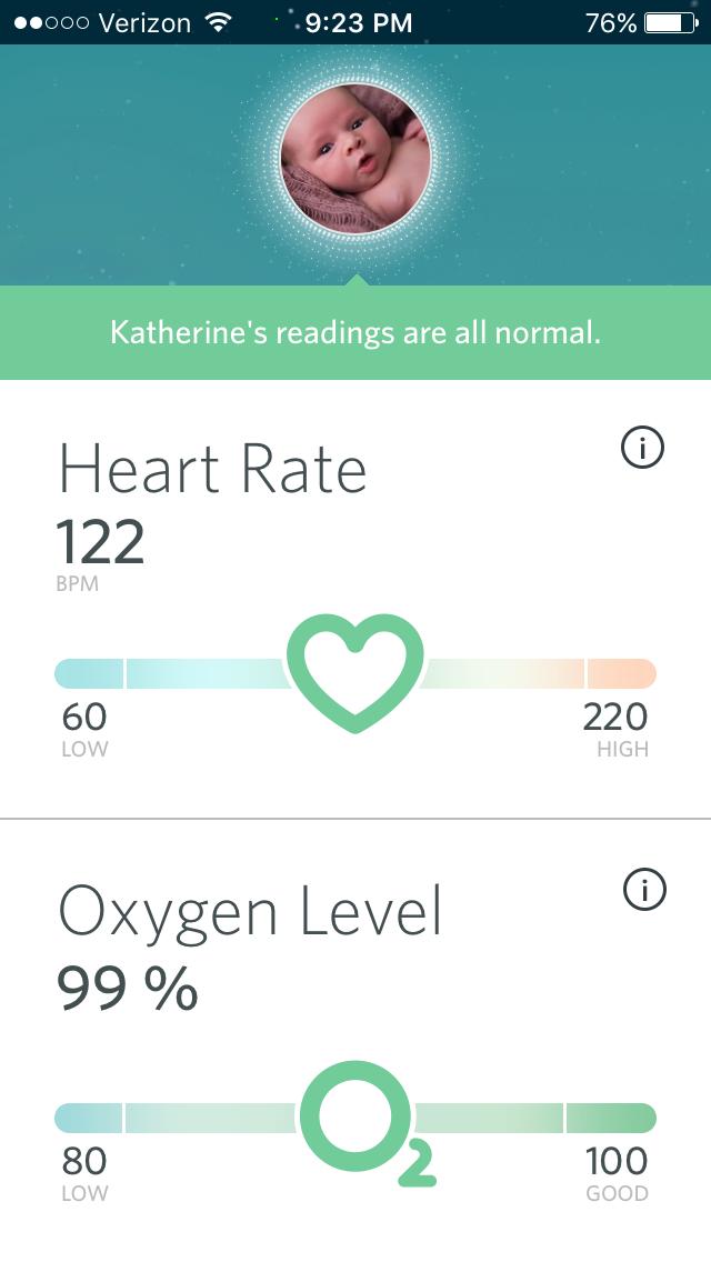 Owlet baby heart monitor