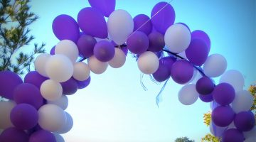 Wearing Purple for Alzheimer's