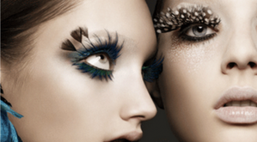 Holiday Must-Have Eyes: Feather Lashes