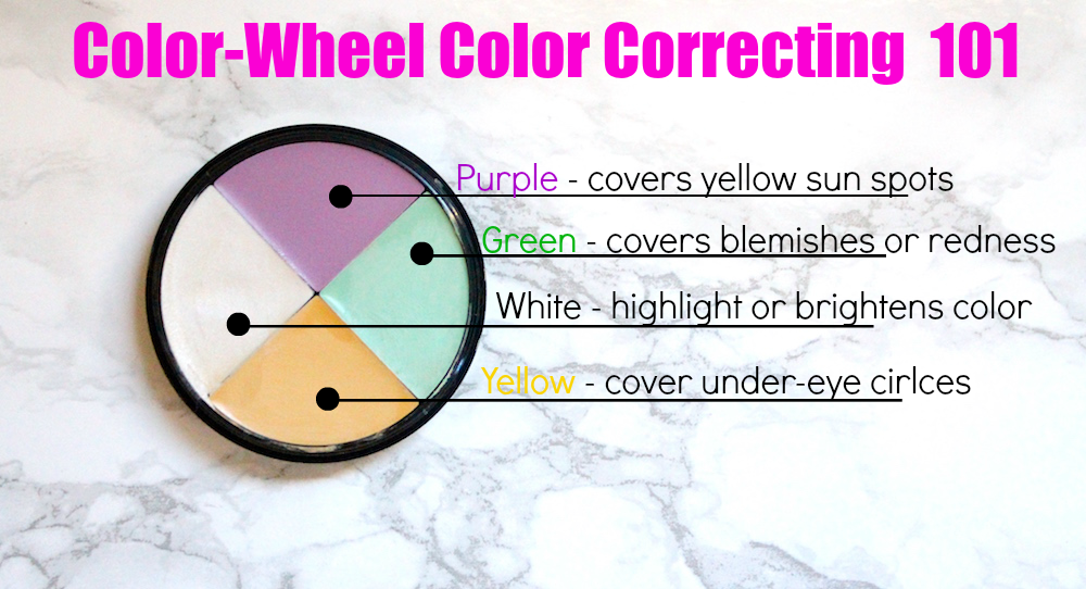 Color Correcting Concealers 101