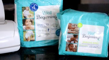 12-Hour Wetness Protection with Well Beginnings Diapers