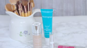 Keeping My Skin Hydrated with Neutrogena's New Hydro Boost Line