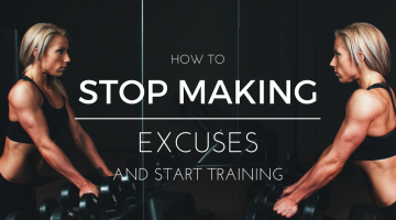 How to Stop Making Excuses & Start Exercising