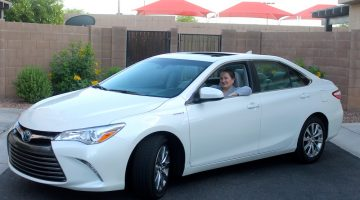 Whizzing Through Town in My Camry Hybrid XLE for the Week