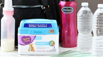 Travel Tips for Formula Fed Baby