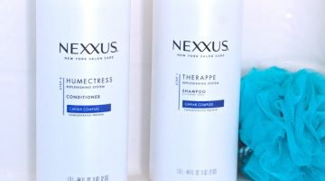 Hair Therapy with Nexxus & My New Hair Color